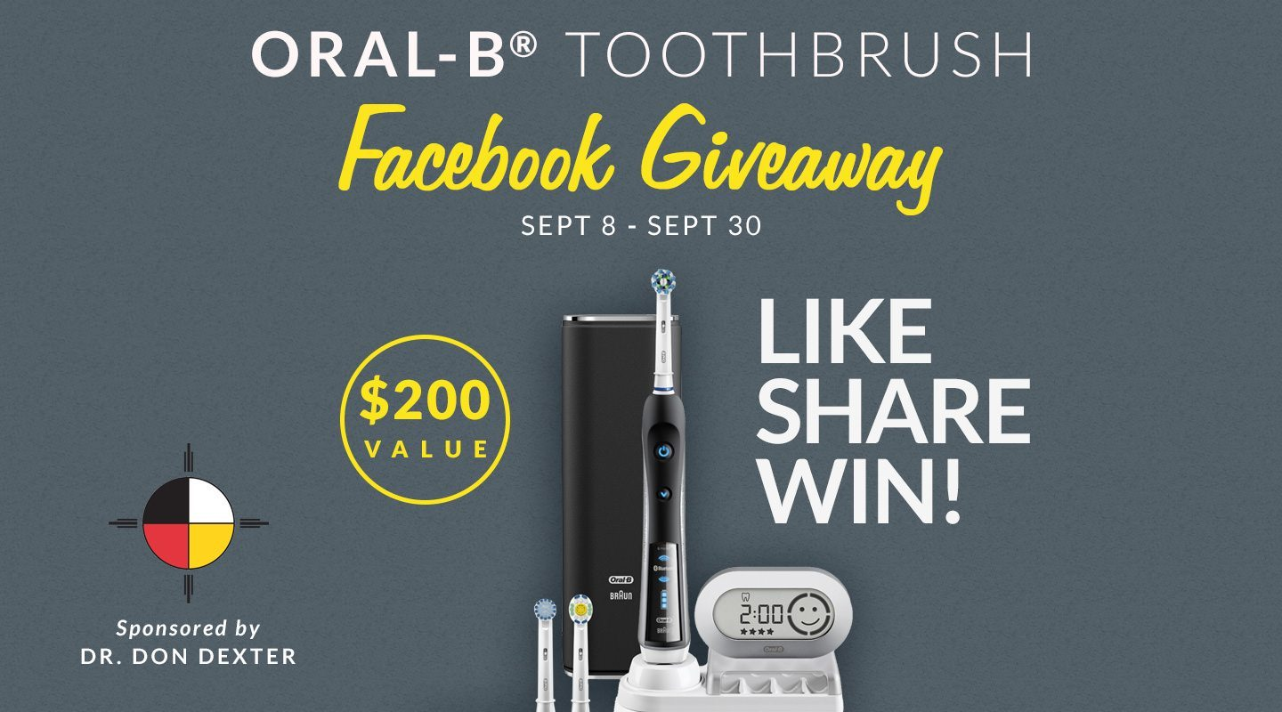 Dr. Dexter's Oral-B® Black 7000 Toothbrush Giveaway