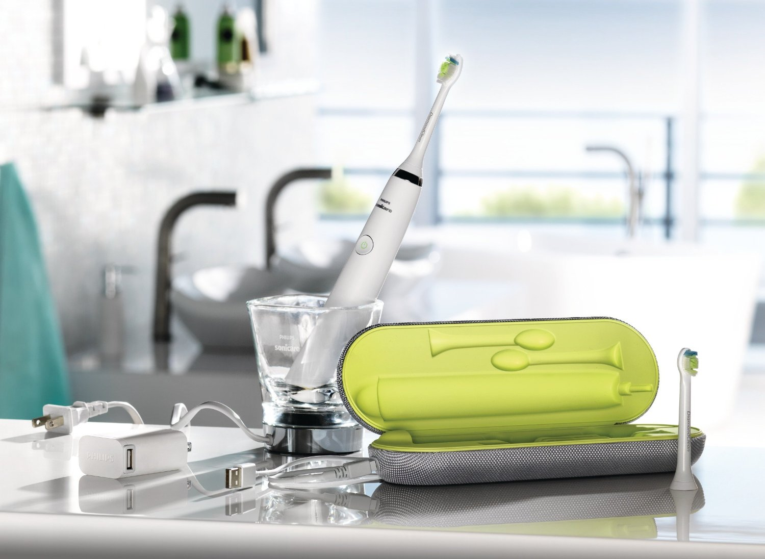 Philips Sonicare DiamondClean Electric Toothbrush Giveaway