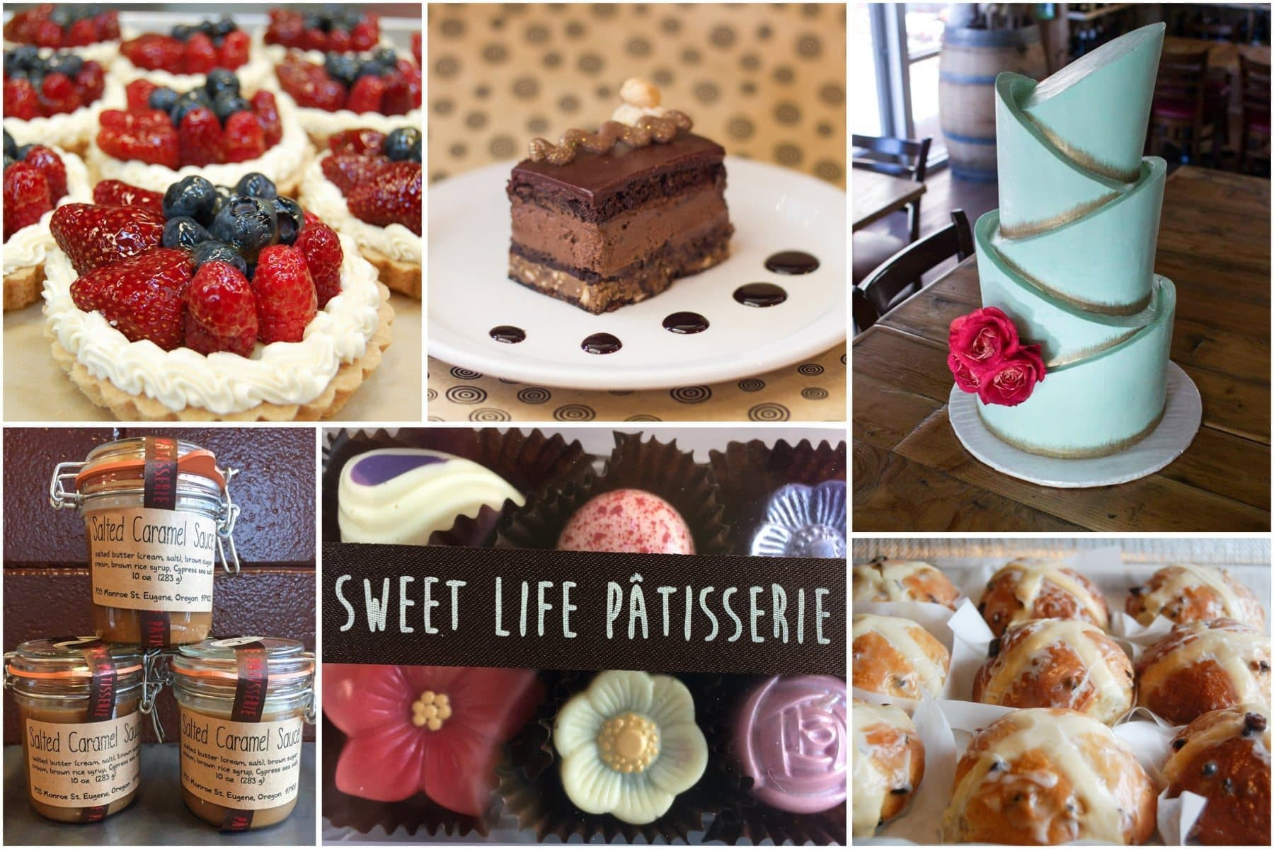 Desserts, Pastries and Cakes from Sweet Life Patisserie, Eugene, OR