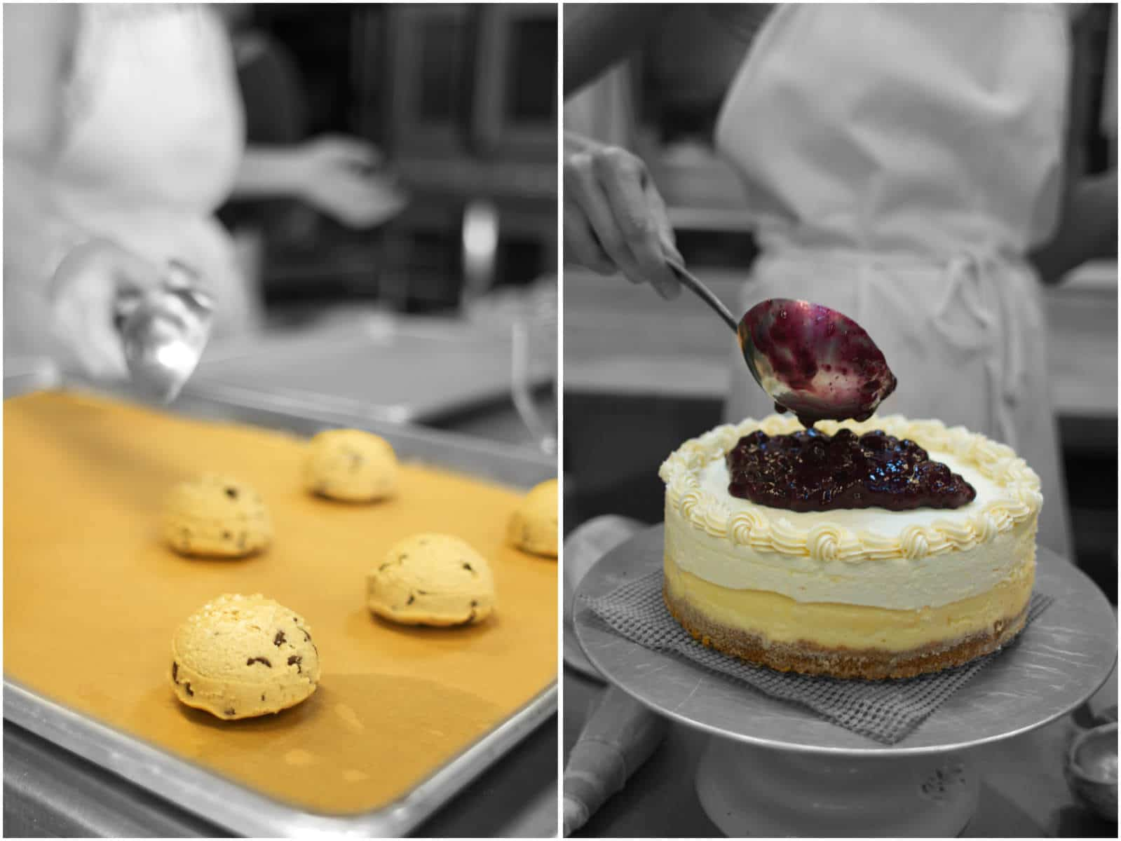 Cookies and Cheesecakes from Sweet Life Patisserie, Eugene, OR